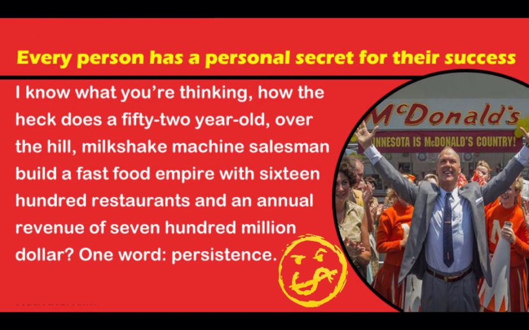 Ray Kroc: Founder? No. RainMaker? Yes.